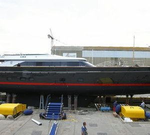 Newly launched 60m mega yacht SEAHAWK by Perini Navi and Ron Holland