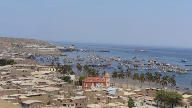 Lovely port of Paita in northern Peru