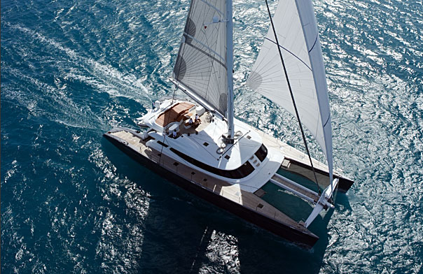 Luxury charter catamaran ALLURES