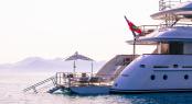 Luxury charter yacht PRIDE