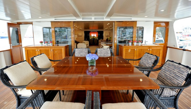 Luxury motor yacht A2 - Exterior