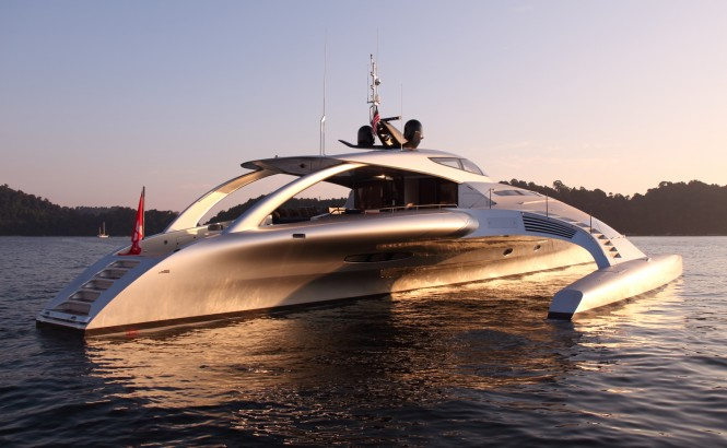 Luxury motor yacht Adastra by McConaghy Boats