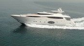 Luxury motor yacht Aycer 110 to be the largest yacht on display at the Hong Kong Gold Coast Boat Show 2013