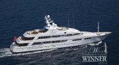 Luxury motor yacht Faith with naval architecture by Azure