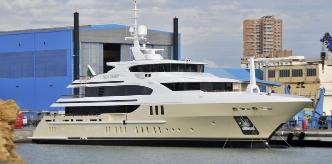 Luxury motor yacht Lady Candy by Benetti