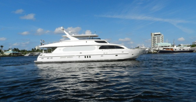 Luxury motor yacht Second Love by Hargrave