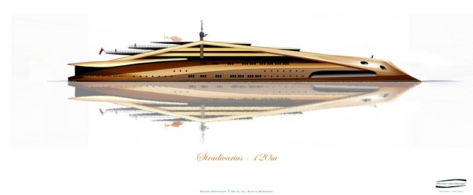 Luxury motor yacht Stradivarius by Alex McDiarmid