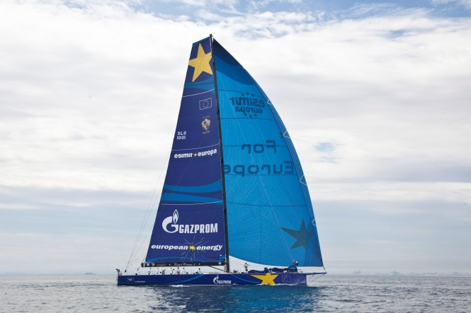 Luxury sailing yacht Esimit Europa 2 ©2013/photo: ESIMIT EUROPA 2 / BYBOSCH