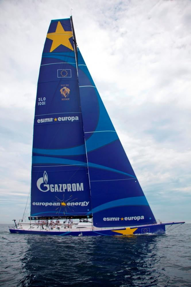 Luxury superyacht Esimit Europa 2