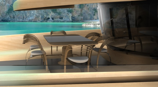 Luxury yacht Cronos concept - Exterior