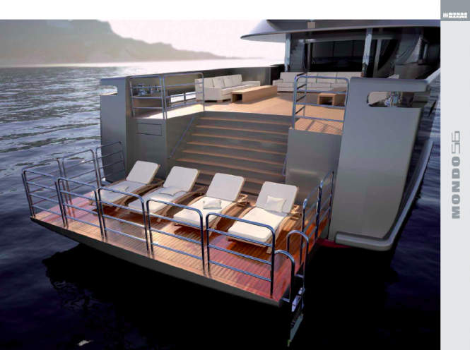 Luxury yacht MONDO56 concept by Sergio Cutolo and MondoMarine