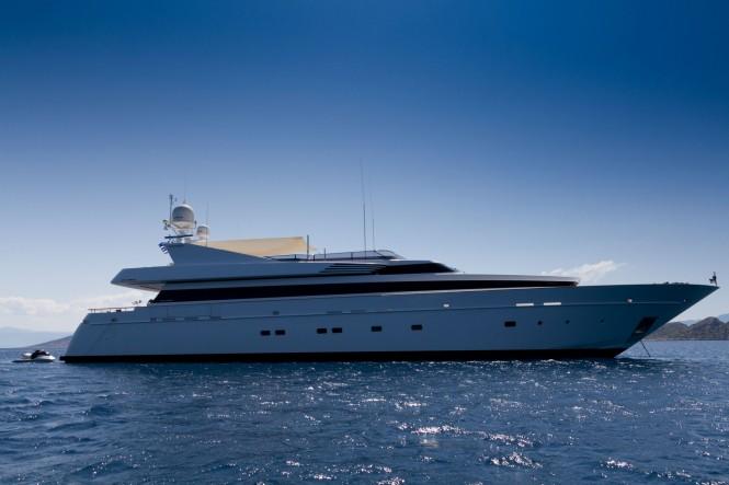Luxury yacht Mabrouk