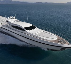 Overmarine delivers 30th Motor Yacht Mangusta 108