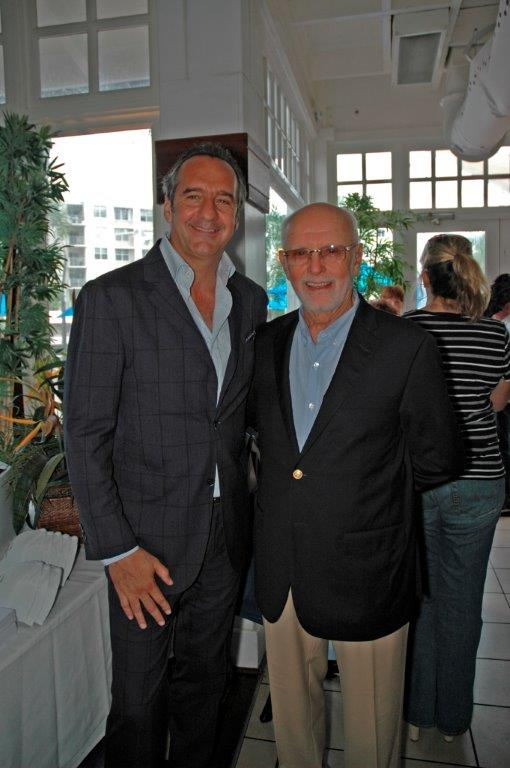 Marcello Maggi from ISA Yachts with Edward Sacks from ISA Yachts-North American Operations