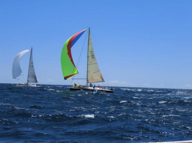 Marina Port Vell Sponsored Sailing Control Yacht Racing