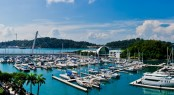Marina at Keppel Bay situated in the popular Asian yacht charter location - Singapore
