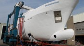 Moonen 100 superyacht YN195 under construction at Moonen Shipyards
