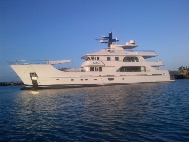 New 38m Expedition Yacht Batai Delivered By Inace Yachts