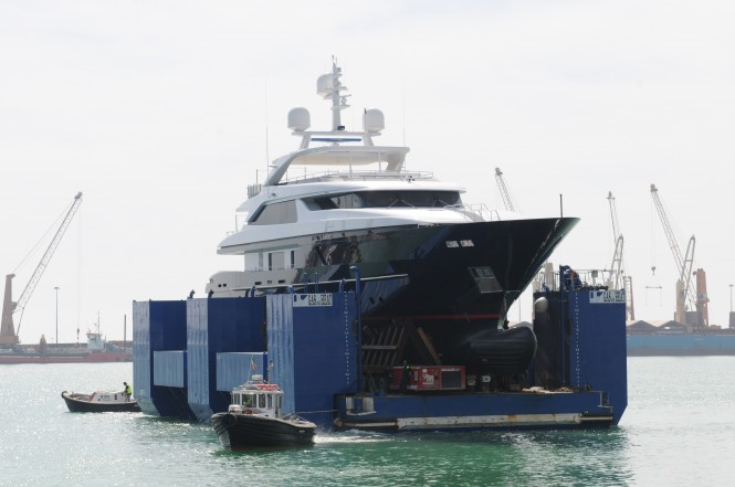 Motor Yacht Starling launch - 5th Sanlorenzo 46 Steel