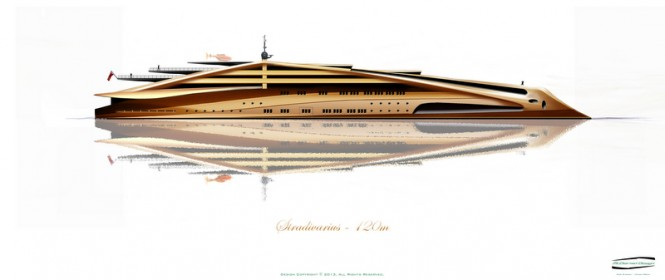 New 120m mega yacht Stradivarius by Alex McDiarmid