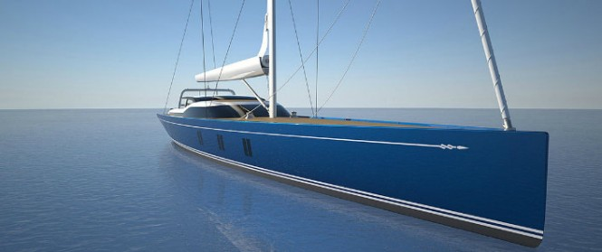 New 46m Tripp Design Yacht currently under construction at Holland Jachtbouw