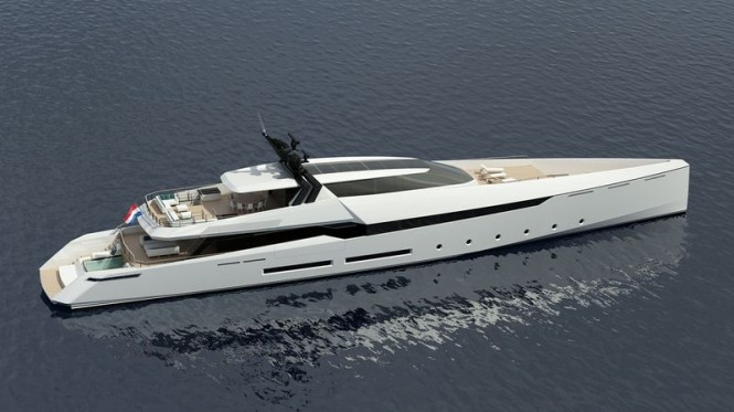 New 55m motor yacht Ghost G180F introduced by Ghost Yachts