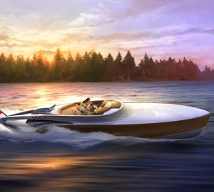 New AEROBOAT Superyacht Tender / Luxury Day Boat unveiled by Claydon Reeves