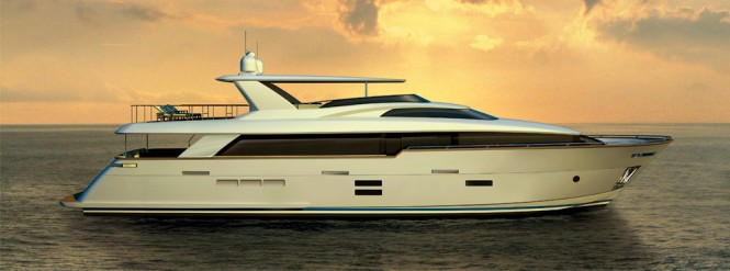 New Hatteras 100 RPH Yacht