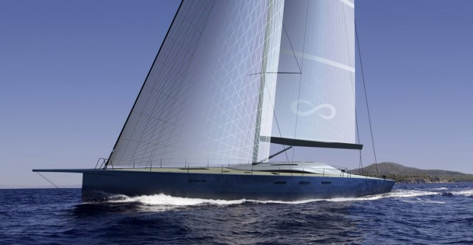 New sailing yacht Infiniti 100S introduced by Danish Yachts and Infiniti Yachts