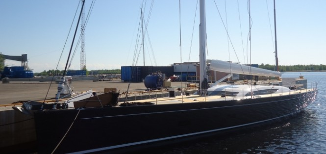 Newly launched 32m superyacht Baltic 107 Custom by Baltic Yachts and German Frers