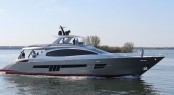 Newly launched Lazzara LSX92 Yacht
