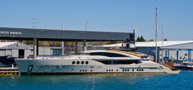 Newly launched PJ 210 superyacht Lady M (Project Stimulus, PJ264) by Palmer Johnson