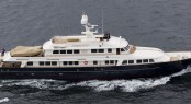 Newly refitted A2 superyacht on her maiden voyage