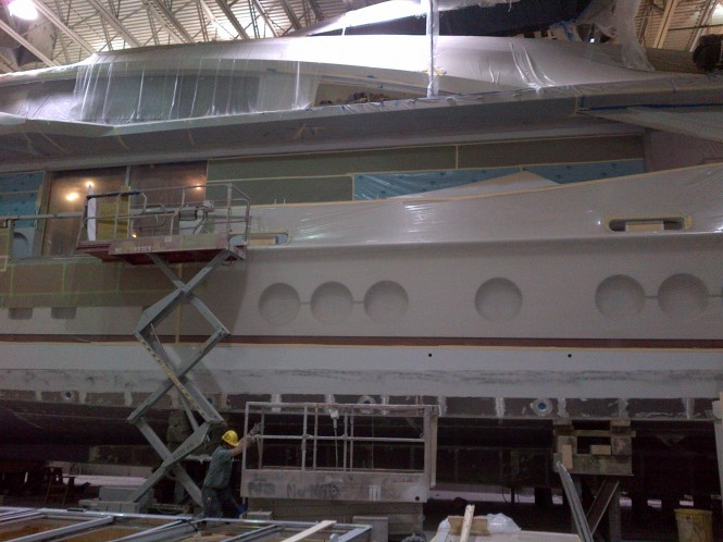 PJ264 yacht LADY M by Palmer Johnson - Image courtesy of DuraShield Marine