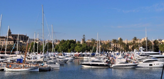 Palma International Boat Show 2013 hosted by the popular Mediterranean yacht charter destination - Palma