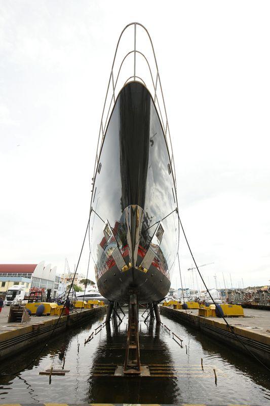 Perini Navi sailing yacht Seahawk