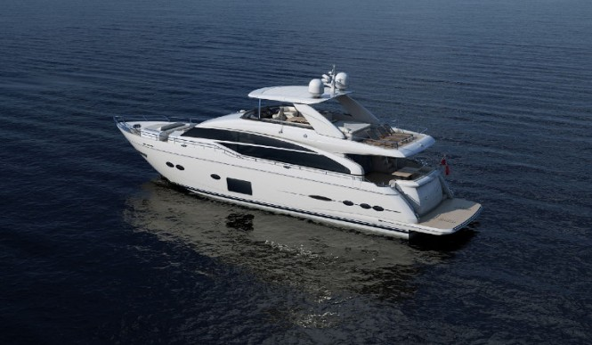 Princess 88 Yacht to be displayed at PSP Southampton Boat Show 2013