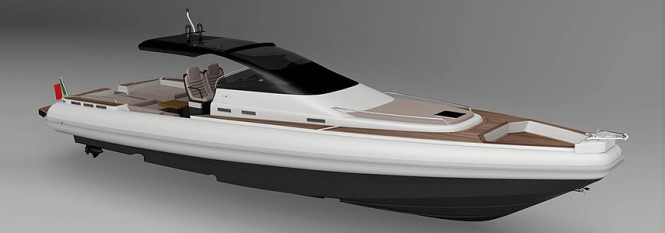 Project MX-16 Coupe superyacht tender by Magazzu