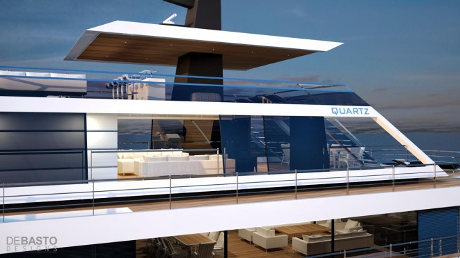 Quartz Yacht Concept - side view