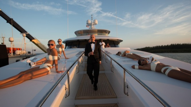 Rapper and songwriter Pitbull aboard Arianna