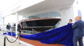 Riva Aquariva Super Yacht Tender at the Qingdao Boat Show 2013 in China