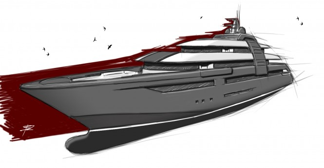 90m ZSYD yacht project
