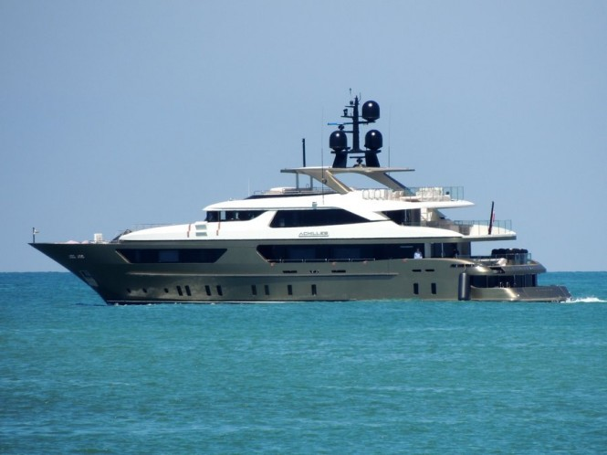 Sanlorenzo superyacht Achilles - Photo by Roberto Malfatti