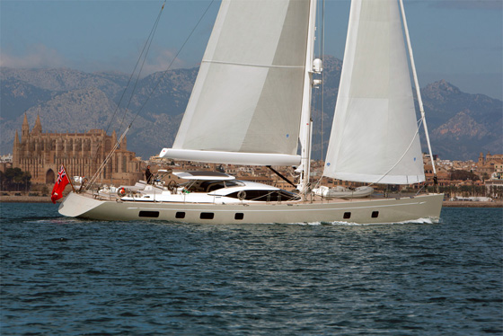 Second Oyster 100 superyacht Penelope