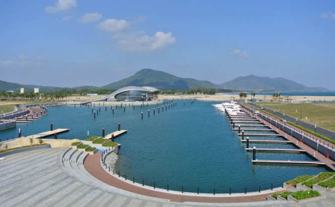 Shimei Bay Marina - Image courtesy of PORALU MARINE