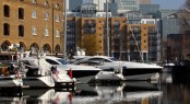 St Katharine Docks in Central London