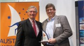 Stephen Vincent Receiving 2012 Exporter of the Year Award
