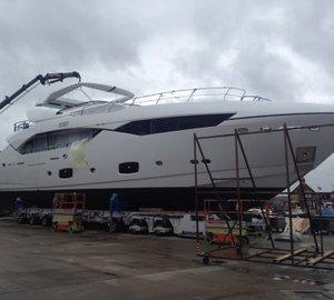 Sunseeker 115 Sport motor yacht ZOZO launched