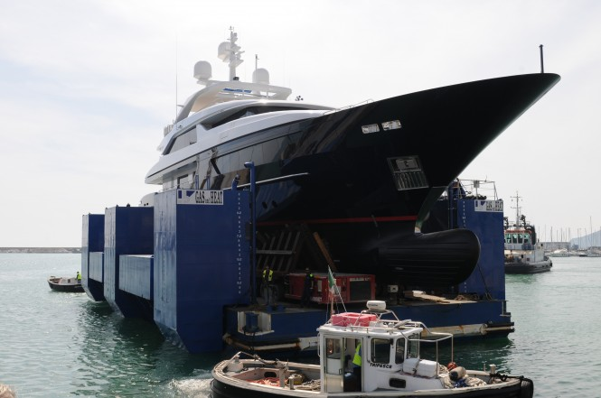 Super yacht Starling launched by Sanlorenzo