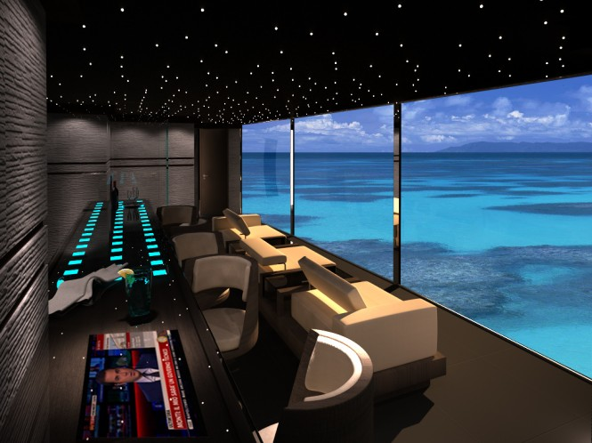 Superyacht Contact concept - Interior